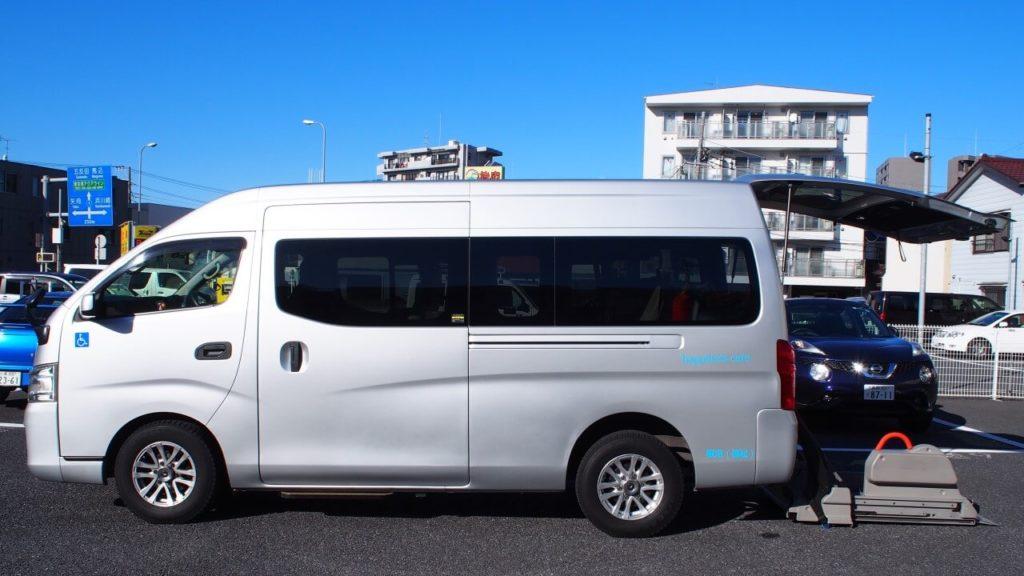 介護タクシーハピネスケア車両